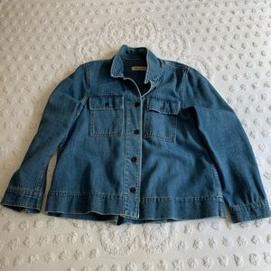 Madewell A Line Denim Jacket